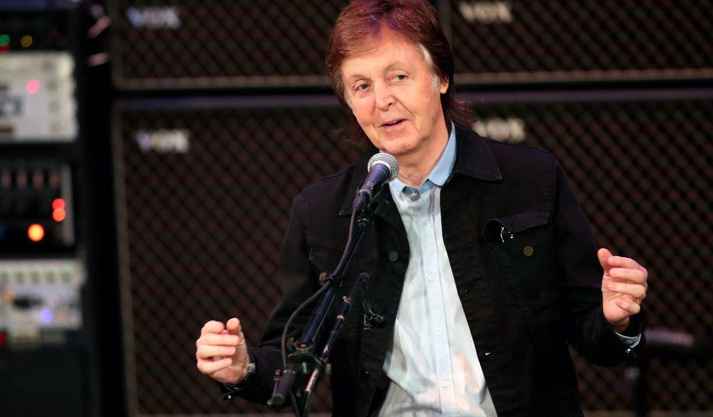 Beatles-Star Paul McCartney