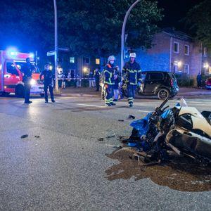 Die Unfallstelle in Billstedt.