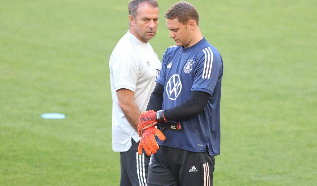 Manuel Neuer fällt gegen Rumänien verletzungsbedingt aus.