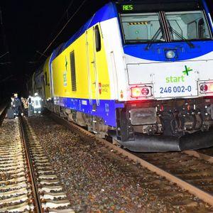 Regionalzug erfasst Bahn