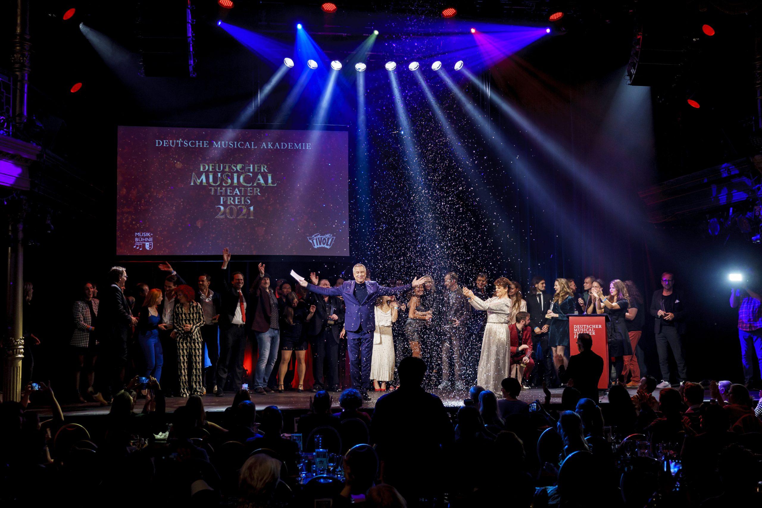Musical Preise alle Beteiligten auf der Bühne