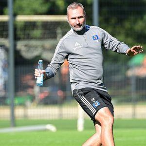 Tim Walter im HSV-Training