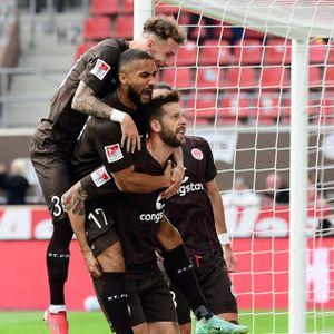 Hartel, Kyereh, Burgstaller, FC St. Pauli