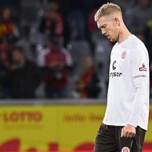St. Paulis Simon Makienok konnte im Test beim SC Freiburg nicht überzeugen.