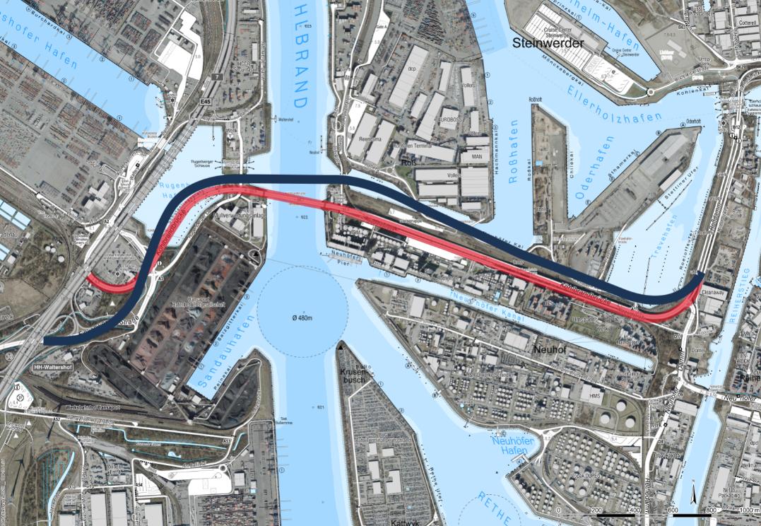 Köhlbrandbrücke-Visualisierung-HPA-Tunnel