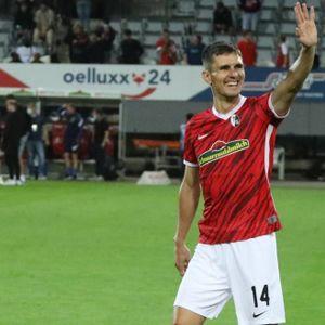 SC Freiburg-Spieler Johannes Flum