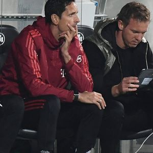Dino Toppmöller (l.) und Julian Nagelsmann