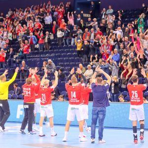 HSVH Fans in der Barclays Arena
