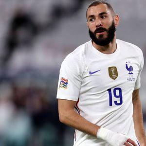 Karim Benzema im Trikot von Frankreich