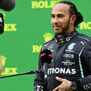 Formel-1-Pilot Lewis Hamilton